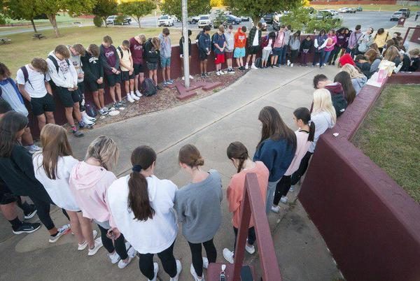 Picture for Doughnuts, prayer and camaraderie at See You at the Pole