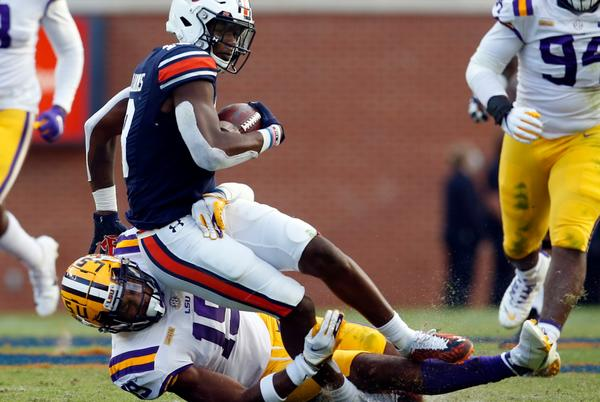 Picture for Auburn coming to play LSU in Death Valley at night