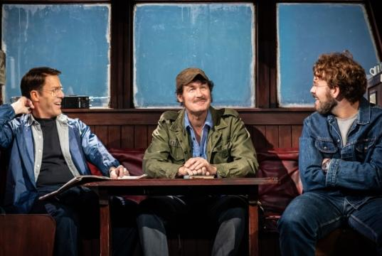 Picture for The Shark is Broken, Ambassadors Theatre, London, review: a zinging look behind the scenes of Jaws
