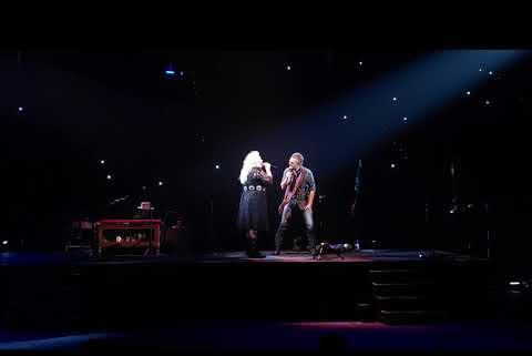 """Picture for Eric Church & Joanna Cotten Perform An Incredible Duet Of """"Like Jesus Does"""" On Opening Night Of The 'Gather Again Tour'"""