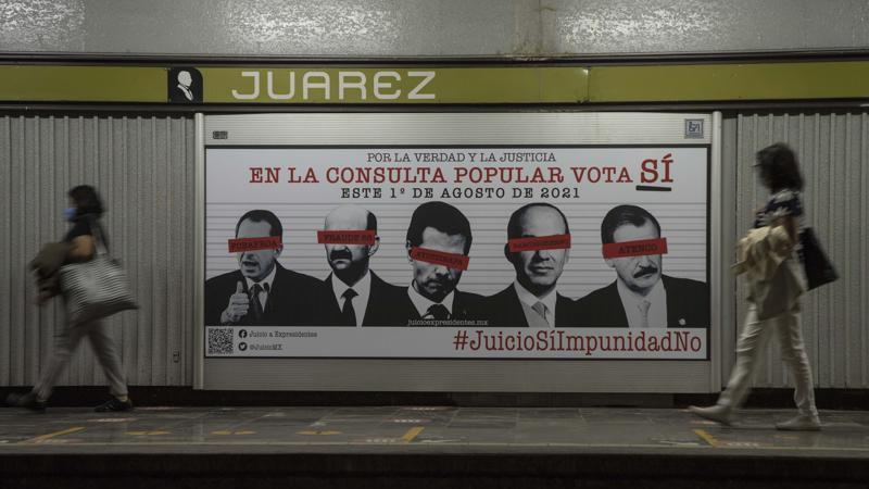 Picture for Mexico to hold referendum on accountability of ex-presidents