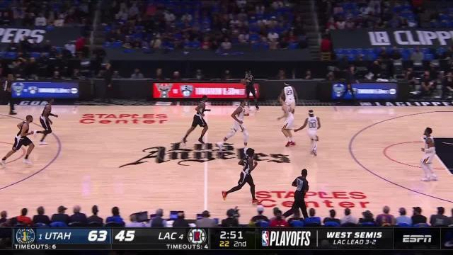 Picture for Los Angeles Clippers   3-pointer by Royce O'Neale