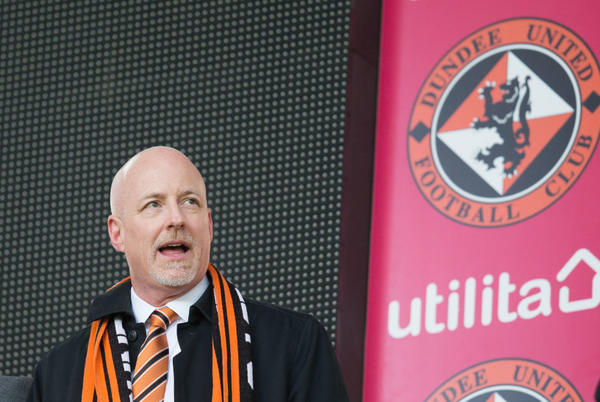 Picture for Dundee United owner rubbishes suggestions he's 'wasted money' at Tannadice