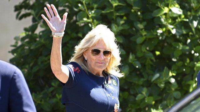 Picture for First Lady Jill Biden visits Florida on vaccine tour