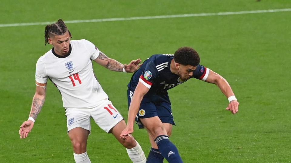 Picture for England and Scotland ground out goalless draw at Wembley - and some people could barely stay awake