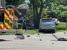 Picture for UPDATE: 46-year-old man identified as victim in fatal crash; car was stolen
