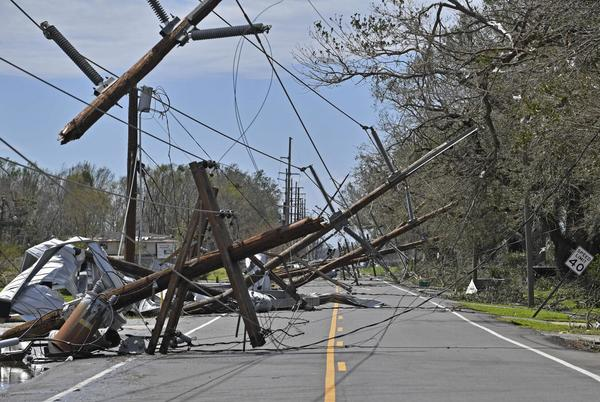 Picture for Entergy Louisiana customers could see a 15-year, $5 a month charge following 2020 storm damage