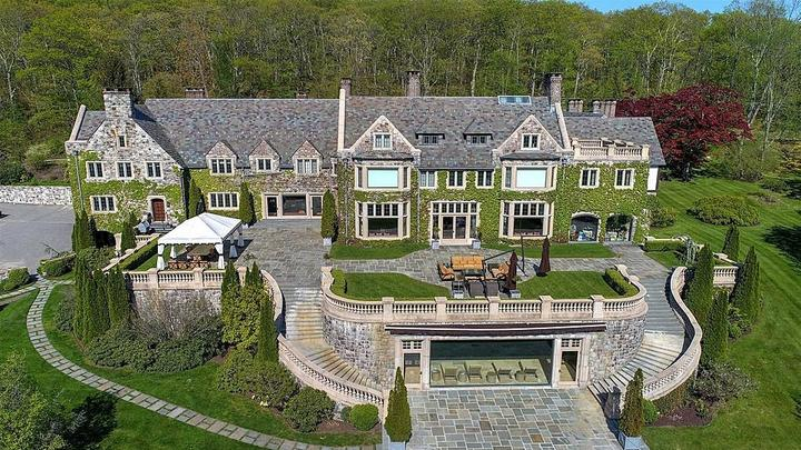 Cover for See Inside Liam Neeson's Luxurious 34,000 sq. ft. Upstate NY Farmhouse