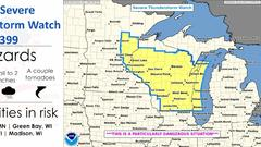 Cover for Rare 'PDS' damaging derecho tears through Wisconsin