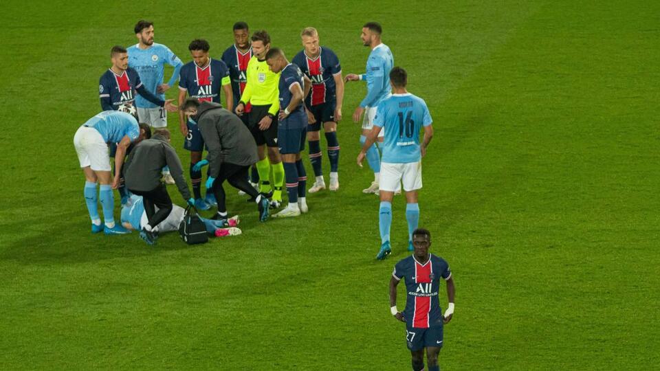 Picture for Ilkay Gundogan injury update following Idrissa Gueye horror tackle in Champions League