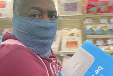 Picture for Do you recognize him? HCSO searching for suspect caught stealing merchandise from west Houston convenience store