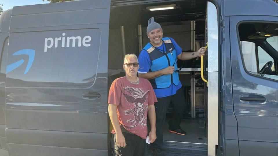 Picture for 'I am so grateful': Amazon driver tracks down Vallejo man's stolen truck