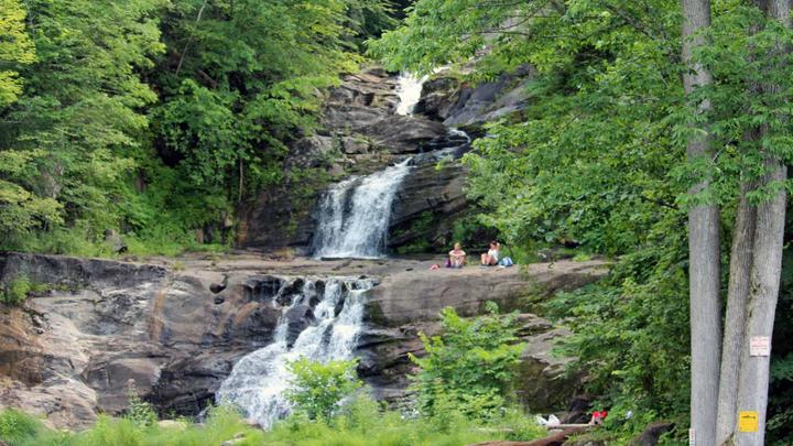 Cover for Kent Falls State Park reaches capacity