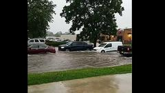 Cover for Opelousas Drivers Causing Wakes During Flash Flooding [Video]