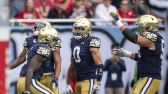 Cover for College Football Top 25 Rankings: Notre Dame and Baylor soar, Clemson plummets into Week 4