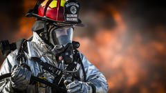 Cover for Retired firefighter says Wheeling failed to properly pay him
