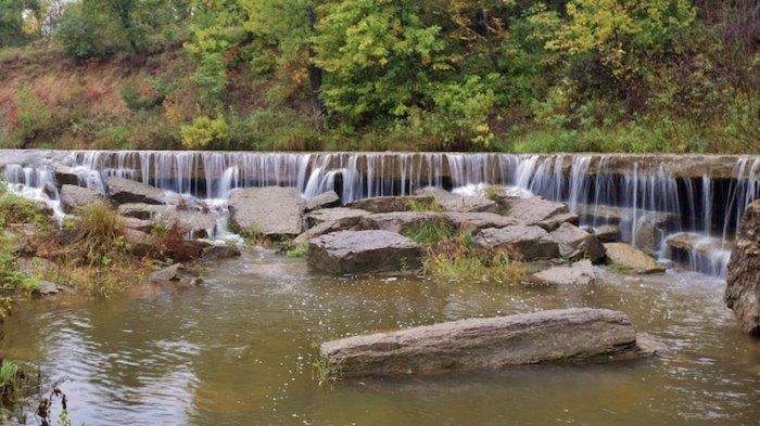 Picture for Hike Less Than Half A Mile To This Spectacular Waterfall Wading Pool In Kansas
