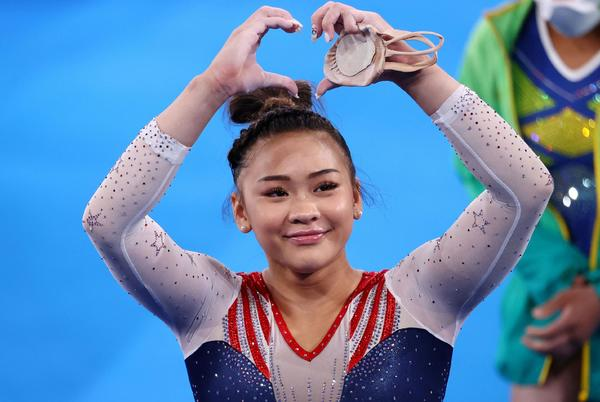 Picture for Sunisa Lee's all-around gymnastics gold hailed by Hmong in US