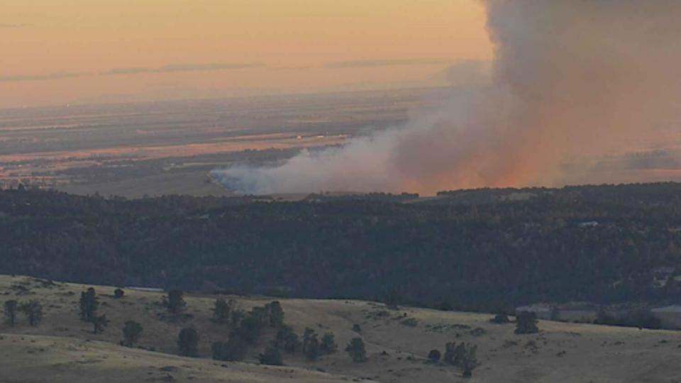 Picture for Large Vegetation Fire Burns North Of Beale Air Force Base