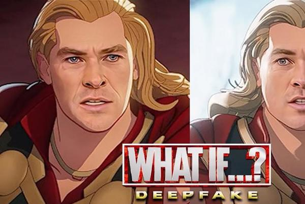 Picture for Chris Hemsworth Deepfaked Into Party Thor Episode of Marvel's What If...?