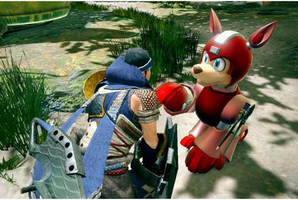 """Picture for Monster Hunter Rise """"Mega Man collab"""" announced, adds Rush"""