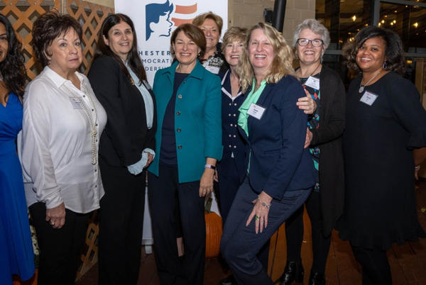Picture for Former Presidential Candidate Amy Klobuchar Visits Chester County