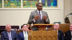 Cover for What NAACP President Derrick Johnson told a Latter-day Saint congregation on Sunday