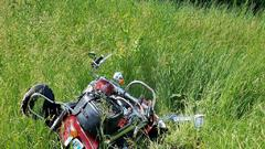 Cover for Motorcyclist Airlifted After Fatal Crash In Douglas County