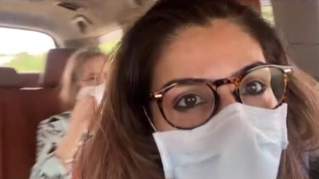 Picture for Raveena Tandon is off to a road trip