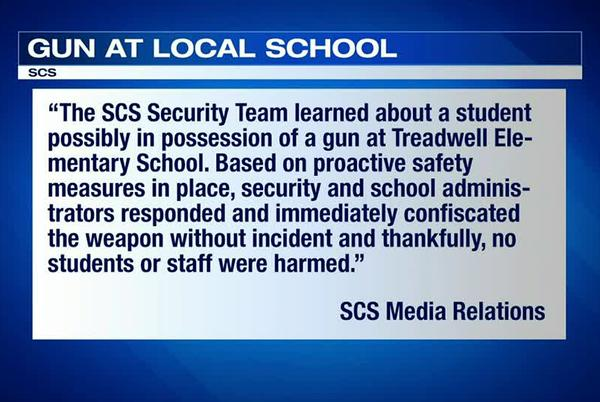 Picture for Student brings gun to Shelby County elementary school, officials say