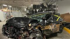 Cover for Michigan Sheriff deputy seriously injured in crash