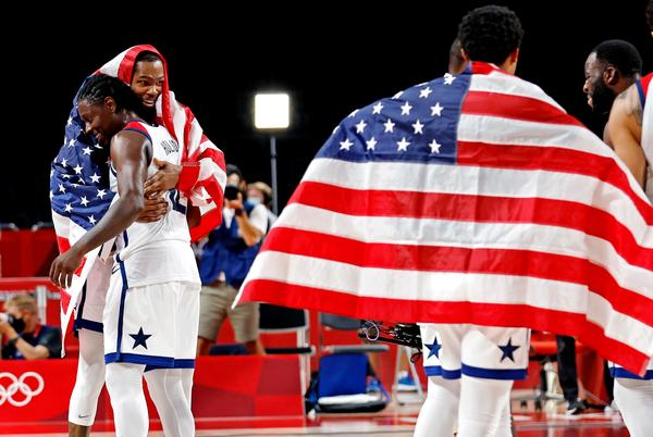 Picture for 'Super-champion' Jrue Holiday caps 'hell of a summer' with Olympic gold medal