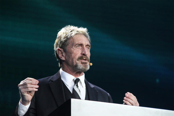 Picture for Antivirus software pioneer John McAfee dead after hanging himself in jail