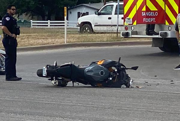 Picture for Motorcyclist transported to hospital after two vehicle collision on South Chadbourne