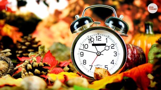 Cover for When do the clocks fall back? Mark your calendar for daylight saving time in Arkansas.