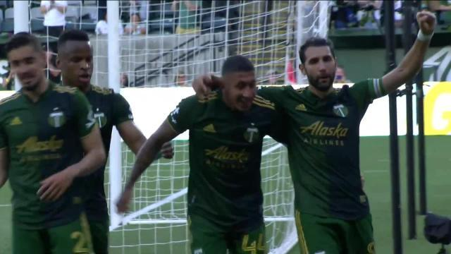 Picture for MLS Portland Timbers | GOAL: Marvin Loría, Portland Timbers - 46th minute
