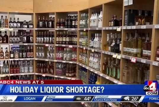 Picture for DABC: Stock up now in case of liquor shortage this holiday season