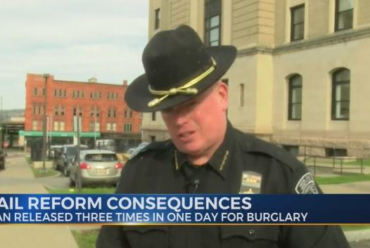 Picture for Oneida County Sheriff Robert Maciol comments on consequences of NYS 'Bail Reform Law'