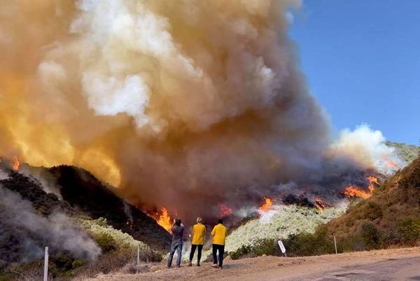 Picture for Update: Alisal Fire passes 15,000 acres in Santa Barbara County