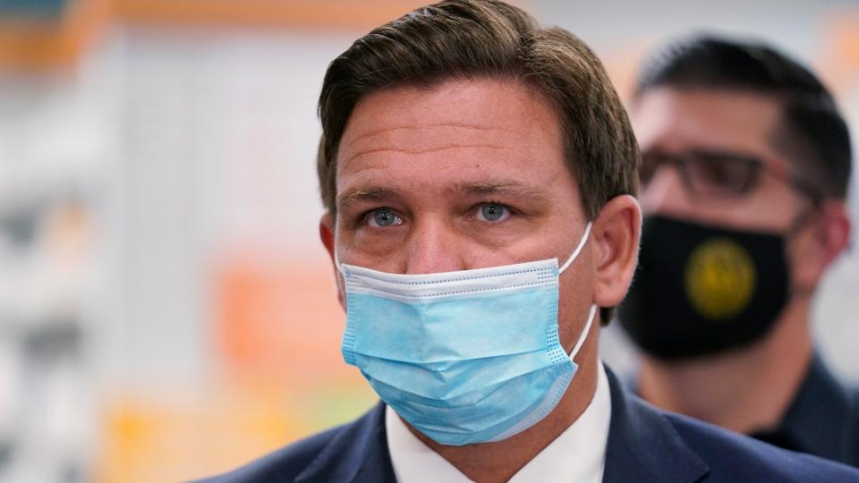 Picture for 'Sellout': Anti-vax conservatives come for DeSantis