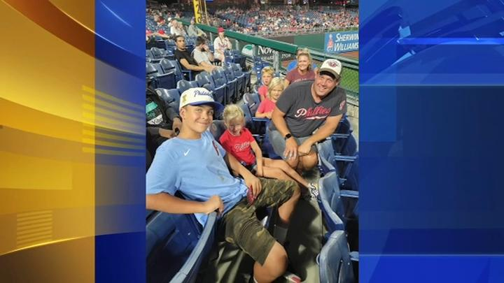 Cover for Willow Grove 5th grader's act of kindness at Philadelphia Phillies game goes viral