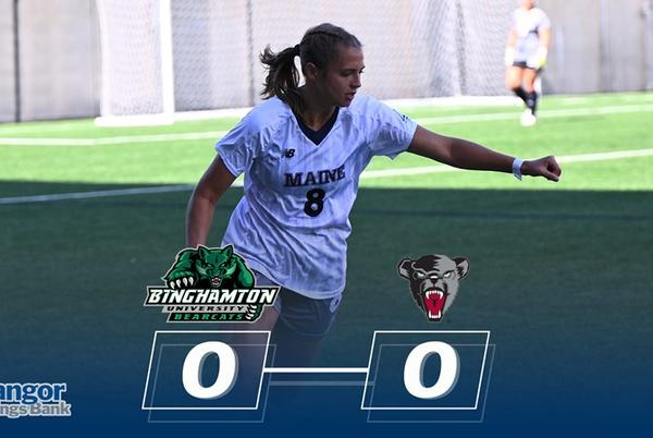 Picture for Kira Kutzinski Posts Third Shutout in Double Overtime Tie with Binghamton