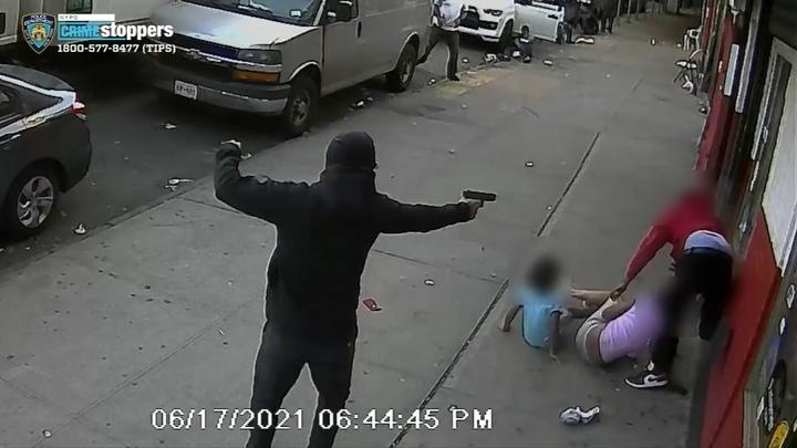 Picture for Kids miraculously not hit in brazen broad daylight shooting on NYC sidewalk