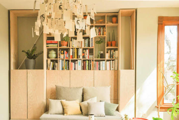 Picture for Before and After: A Dated Chicago Condo Now Has Some of the Coolest Built-In Ideas We've Ever Seen