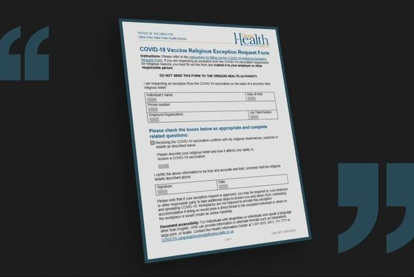 Picture for Here's how many Oregon state employees have requested a COVID vaccine exemption