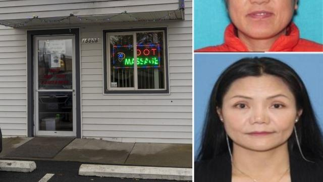 Cover for Task force busts Grants Pass massage parlor for alleged prostitution and possible human trafficking