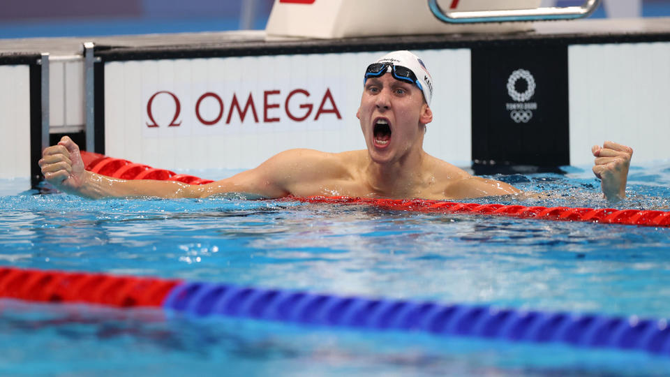 Picture for Harford County Swimmer Chase Kalisz Brings Home First US Gold In Tokyo Olympics