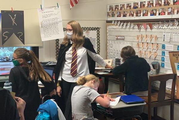 Picture for Troy elementary teacher turns classroom in mini-Hogwarts