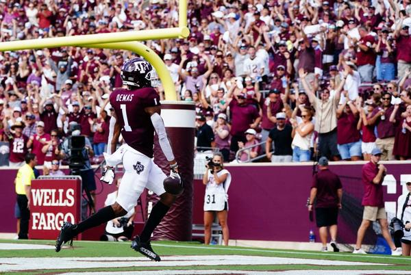 Picture for Aggies Extra Points: Texas A&M 34, New Mexico 0