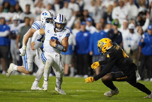 Picture for BYU vs. South Florida College Football Odds, Plays and Insights